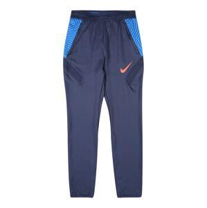 NIKE Sportovní kalhoty  tmavě modrá