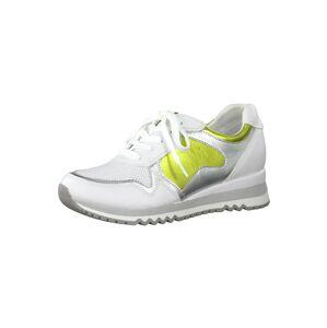 MARCO TOZZI Tenisky  svítivě žlutá / bílá
