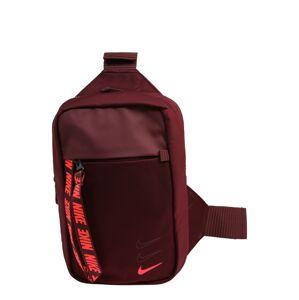 Nike Sportswear Taška přes rameno 'Advance'  vínově červená / korálová