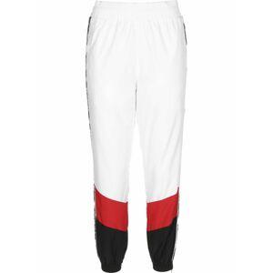 Karl Kani Kalhoty  bílá / červená / černá