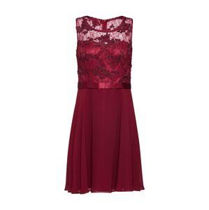 VM Vera Mont Koktejlové šaty  burgundská červeň