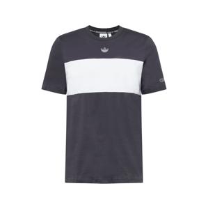 ADIDAS ORIGINALS Tričko  bílá / tmavě šedá