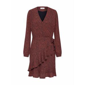 modström Společenské šaty 'Atlas'  červená / černá