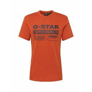 G-Star RAW Tričko  oranžová