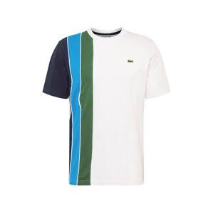 LACOSTE Tričko  modrá / bílá / zelená