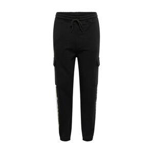 Mennace Kalhoty  černá