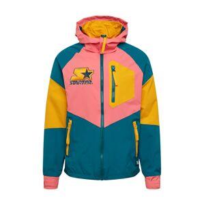 Starter Black Label Přechodná bunda 'Starter'  žlutá / pink / tyrkysová