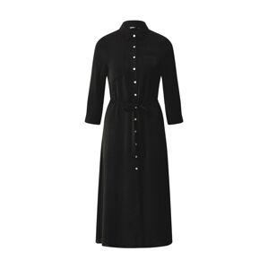 ONLY Košilové šaty 'Isabella'  černá