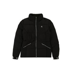 Calvin Klein Jeans Zimní bunda  černá