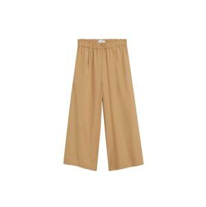 MANGO Kalhoty  béžová
