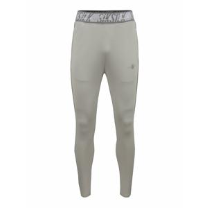 SikSilk Sportovní kalhoty  šedá / světle šedá
