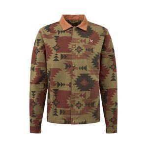 Iriedaily Přechodná bunda 'Nomado Shirt Jacket '  olivová