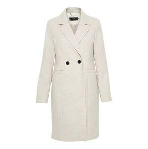 VERO MODA Přechodný kabát  krémová