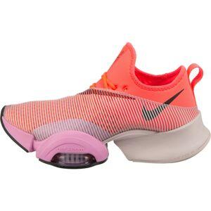 NIKE Sportovní boty 'Air Zoom SuperRep'  fialová / oranžově červená / černá