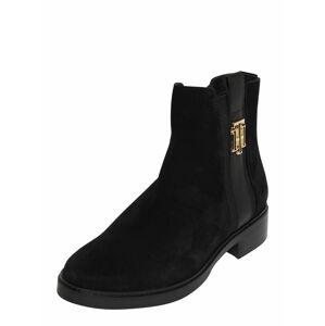 TOMMY HILFIGER Kotníkové boty  černá
