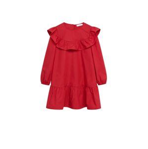 MANGO KIDS Šaty  červená