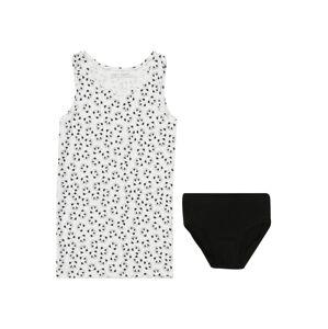 UNITED COLORS OF BENETTON Prádlo-souprava  černá / bílá
