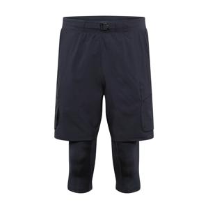 UNDER ARMOUR Sportovní kalhoty 'Run Anywhere 2N1'  černá