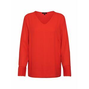 MORE & MORE Halenka 'Pleated Blouse Shirt'  broskvová / oranžově červená