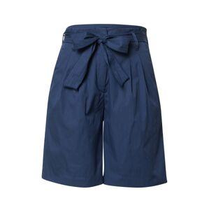 BRAX Kalhoty se sklady v pase 'Milla B'  tmavě modrá