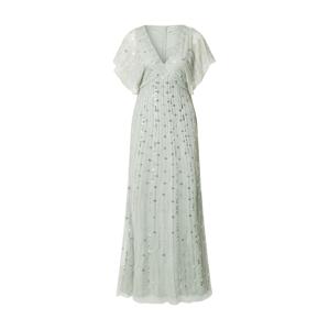 LACE & BEADS Koktejlové šaty 'Seahourse'  opálová / stříbrná / perlově bílá