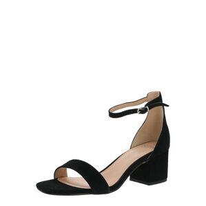 SPM Páskové sandály 'Ivette Sandal'  černá