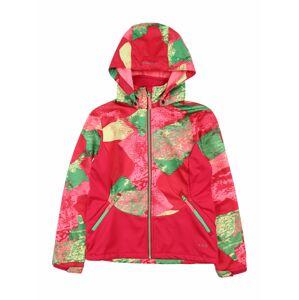 ICEPEAK Outdoorová bunda 'Ladora'  růžová / zelená / pink