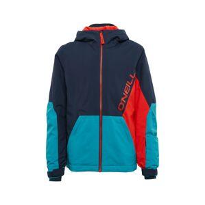 O'NEILL Outdoorová bunda 'PB STATEMENT'  červená / tmavě modrá / petrolejová
