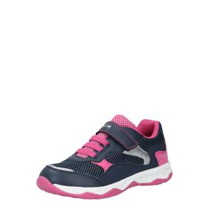 GEOX Kids Tenisky 'CALCO'  pink / námořnická modř / bílá