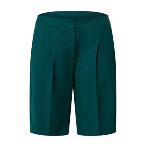 s.Oliver BLACK LABEL Kalhoty s puky  zelená