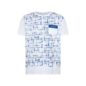 Pepe Jeans Tričko 'RODD'  modrá / bílá