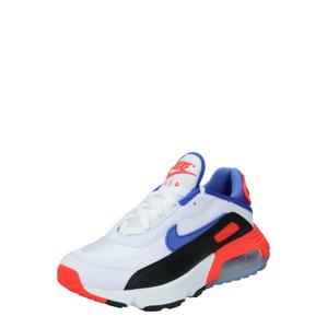 Nike Sportswear Tenisky 'AIR MAX 2090'  bílá / černá / královská modrá / světle červená