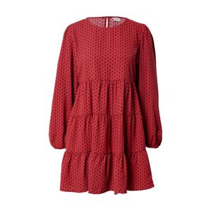 JACQUELINE de YONG Šaty 'Barcelona'  červená / černá
