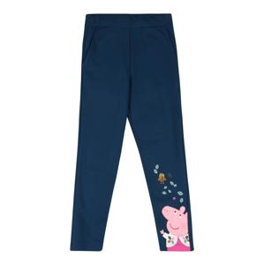 NAME IT Kalhoty 'PEPPAPIG LOIS'  pink / růžová / hnědá / mátová / námořnická modř