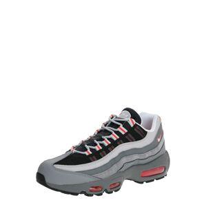 Nike Sportswear Tenisky 'Air Max 95 Essential'  černá / červená / šedá