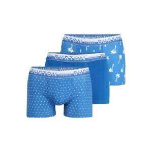 BURTON MENSWEAR LONDON Boxerky  modrá / bílá