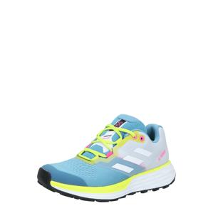 ADIDAS PERFORMANCE Polobotky 'Two Flow'  bílá / svítivě žlutá / kouřově modrá / pink / šedá