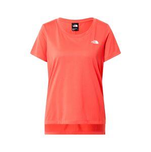 THE NORTH FACE Funkční tričko 'QUEST'  oranžově červená