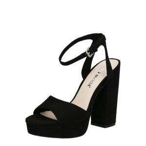 VERO MODA Páskové sandály 'VMCLOVER'  černá
