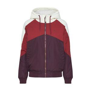 Iriedaily Funkční bunda 'Tri Colore Jacket'  bordó / červená