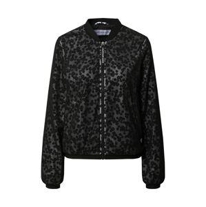Calvin Klein Jeans Přechodná bunda 'J20J213854'  černá