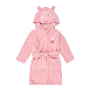 NAME IT Koupací plášť 'Peppapig Obla'  světle růžová / bílá / pastelově červená / černá / pitaya