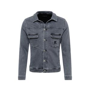Karl Lagerfeld Denim Přechodná bunda 'Denim'  šedá