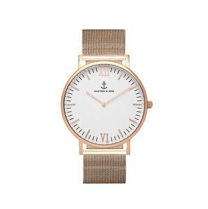Kapten & Son Analogové hodinky 'Campina Mesh'  bronzová