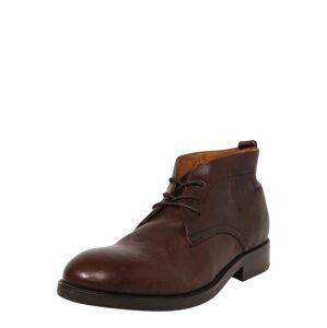 Hudson London Kotníkové boty  kaštanově hnědá