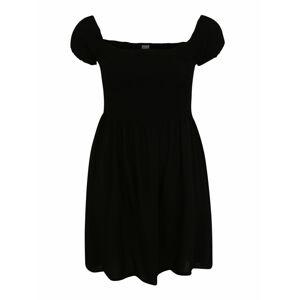 Urban Classics Šaty 'Smoked'  černá