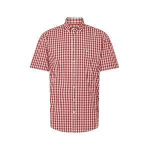 CAMEL ACTIVE Košile 'HEMD/SHIRT'  bílá / červená