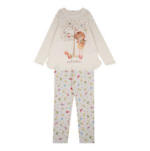 UNITED COLORS OF BENETTON Pyžamo  světle šedá / bílá / mix barev