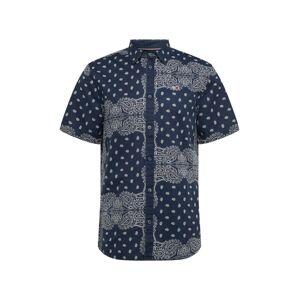 Tommy Jeans Košile  bílá / modrá