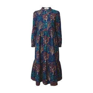 Louche Košilové šaty 'Macha Trees'  mix barev / modrá